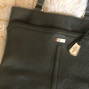 Cole Haan Olive Green Tote Bag